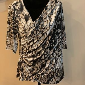 Tops - Collection dress barn XL Shimmer blouse